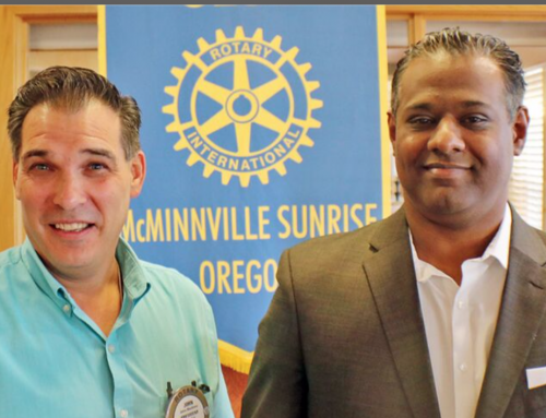 Welcome to McMinnville Sunrise Rotary